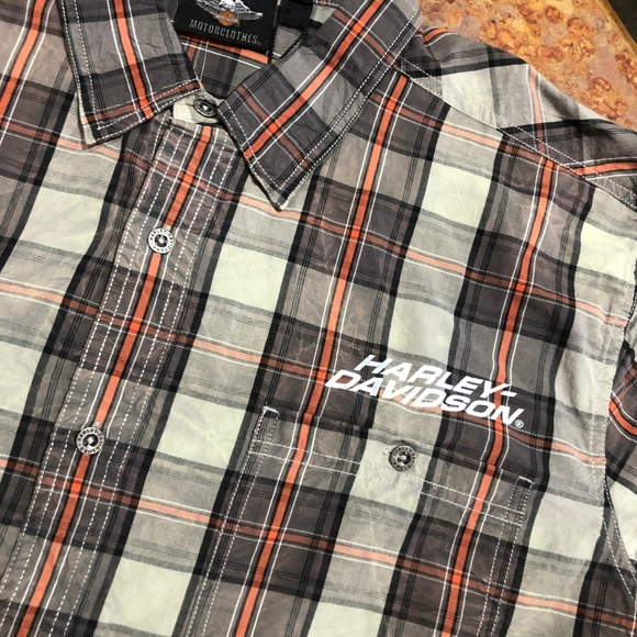 Harley-Davidson Other - Harley Davidson men's Plaid Garage Shirt
